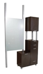 Collins Amati Bi-Level  Styling Vanity - COL-940-48