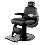 Collins Blacked-out Cobalt Omega Barber Chair - COL-B70-B