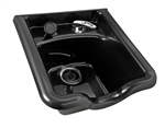 Collins Standard ABS Shampoo Bowl - Black