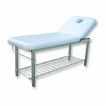 Solid Massage Bed w / Metal Frame & Towel Holder