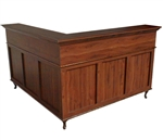 Collins Bradford L-Shaped Reception Desk