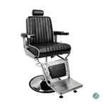 AYC Fitzgerald Barber Chair Black