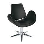 Alipes Black Parrot Base Styling Chair by Gamma & Bross Spa