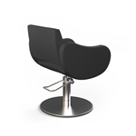 Fifties Black Roto  Styling Chair by Gamma and Bross       GNB-GSF1001RN