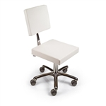 Oneida Stream Pedicure Stool by Gamma & Bross Spa      GNB-GAVA013SG