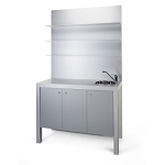 Ikari Shampoo Area Cabinet by Gamma & Bross Spa