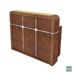 AYC Avon II Square Reception Desk JAT-NRTBL-844