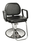 Jeffco Grande Hydraulic Styling Chair w/ G Base