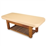 "Living Earth Crafts Napa La Merâ""¢ Spa and Salon Table with Teak Base"