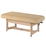 Living Earth Crafts Napa Flat Top Spa Treatment Table Trestle Base