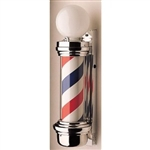 William Marvy Barber Pole Two Light No 55