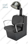 Pibbs 3762 Pisa Dryer Chair - Black Laminate Base
