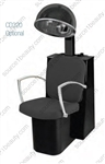 Pibbs 3765 Pisa Dryer Chair - Black Steel Base