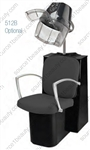 Pibbs 3766 Pisa Dryer Chair - Black Steel Base