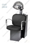 Pibbs 3769 Pisa Dryer Chair - Black Steel Base