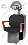Pibbs 3869 Verona Dryer Chair - Black Steel Base