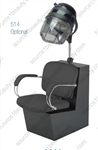Pibbs 3963 Latina Dryer Chair - Black Laminate Base