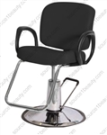 Pibbs 5406A Loop Hydraulic Styling Chair - American Slim