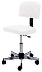 Pibbs 648 Stool With Adjusting Backrest