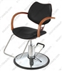 Pibbs 6606 Diva Hydraulic Styling Chair - Star Base