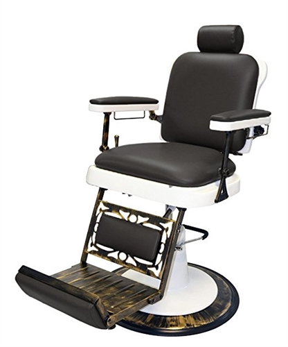 Pibbs King Barber Chair · View Larger Photo - Pibbs King Barber Chair Antique Base - Source One Beauty