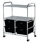 D4 Work Cart with 4 Storage Drawers