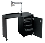 Pibbs NC1006N Manicure Table - Locking