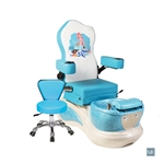 AYC Little Mermaid  - Kids Pedicure Spa  SNS-KSPA-111515-BLU