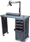 Salon Tuff Econo Deluxe Manicure Table  ST-EMTD