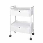 Beauty Trolley Cart with locking drawers 1019