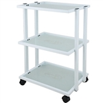 Weet Beauty Trolley With Three Tier Glass - USA-1041