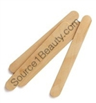 lip wax applicator stick wood spa salon facial ski