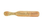 wood spatula wax applicator facial spa salon