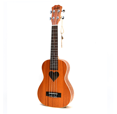 "<b><inline style=""font-family: Arial; color: rgb(192, 80, 77); font-size: 18px;"">Concert Ukulele Heart-burst</inline></b>"