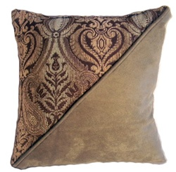 Diagonal Accent Pillow