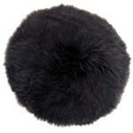 Round Sheepskin Pillow