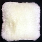 Square Sheepskin Pillow