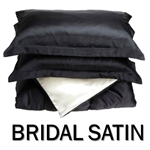 Bridal Satin Round Bed-In-A-Bag