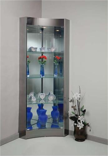 Capella Corner Curio Cabinet