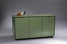 Elemento Three-Door Cabinet