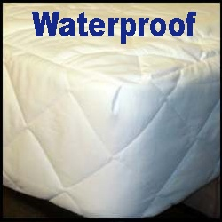 Waterproof Round Mattress Pad