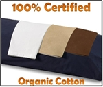 100% Organic Cotton Body Pillow Case