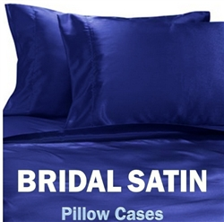 Bridal Satin Pillow Case Set