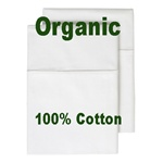 100% Organic Cotton Pillow Case Set