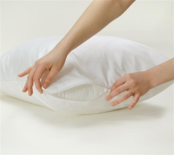 Dust Mite + Allergy Stretch Knit Pillow Protector