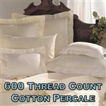 600TC Cotton Percale Pillow Shams