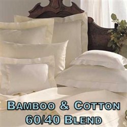 Bamboo/Cotton Blend Pillow Shams