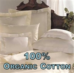 100% Organic Cotton Pillow Shams