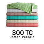 300TC Round Coverlet