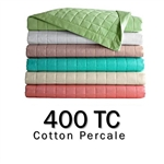 400TC Round Coverlet